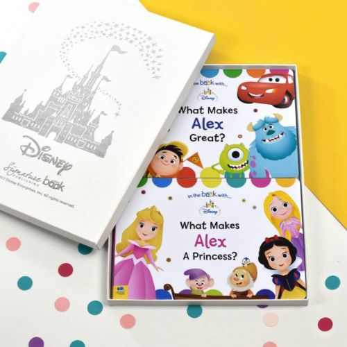 Personalised Dual Disney Board Book Set